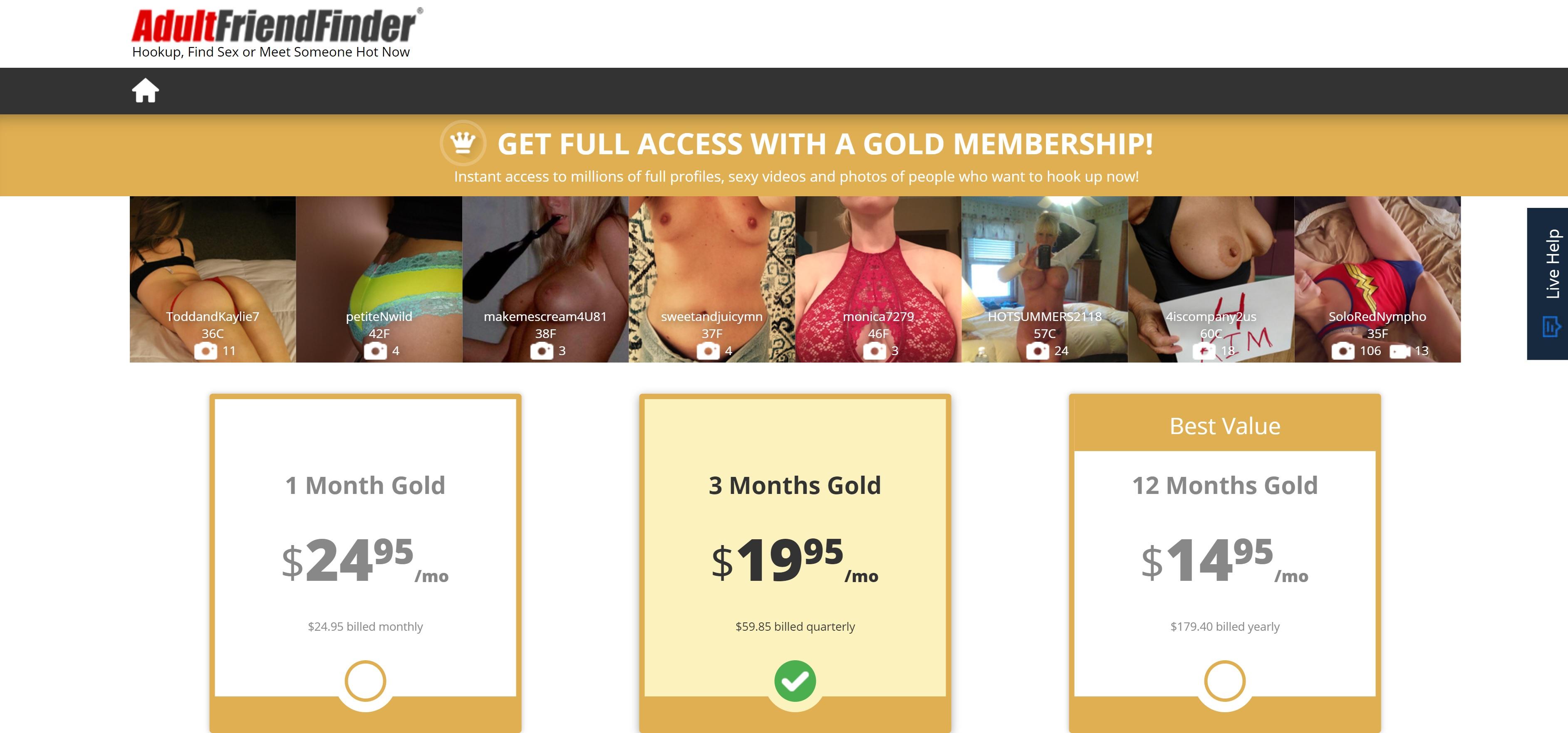 Find Friends, Legit Sex Hookup Site - Adult Friend Finder Review