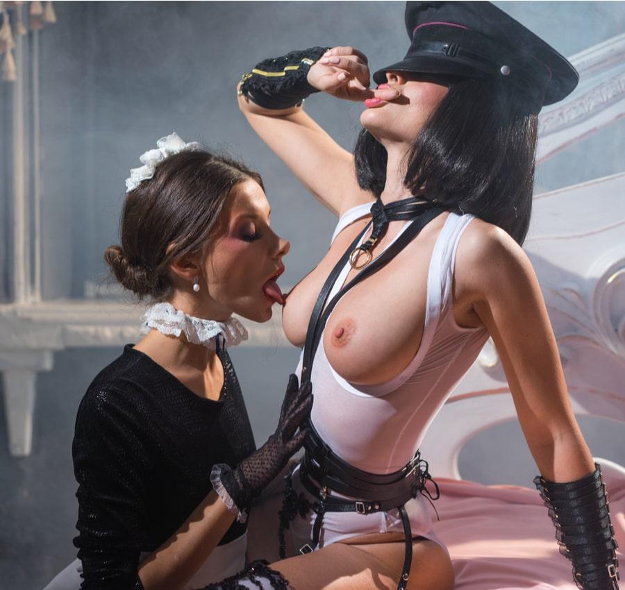 lesbian dominatrix